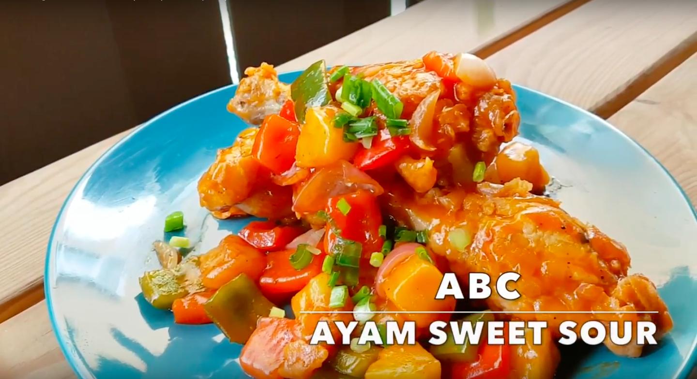 Resepi : Ayam Sweet Sour