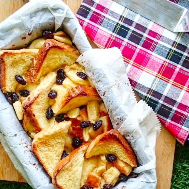 Resepi: Pudding Roti Kurma