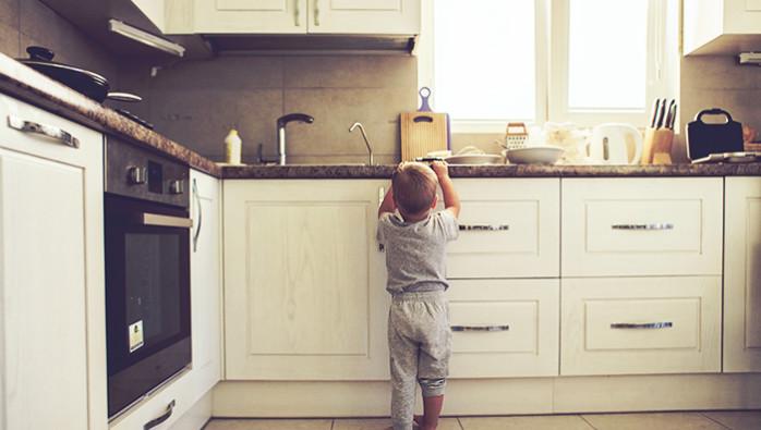 Jadikan Dapur Ruang Selamat Untuk Anak