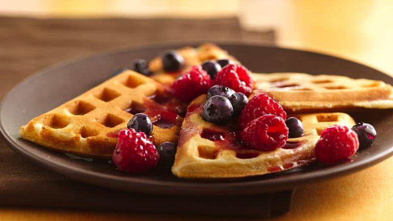 Resepi: Buttermilk Waffles