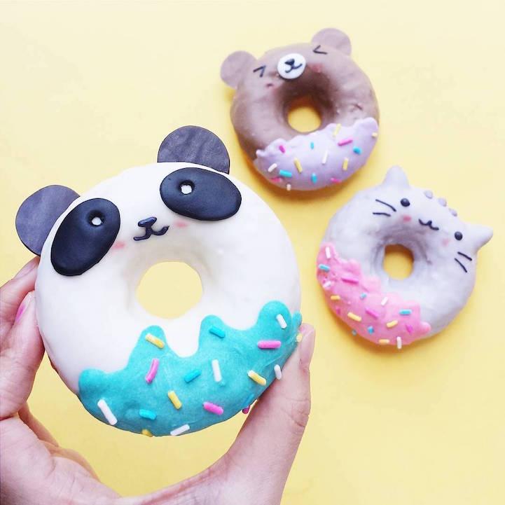 7 Donut Unik Di Dunia. Gila Dan Pelik Sungguh Bentuknya!