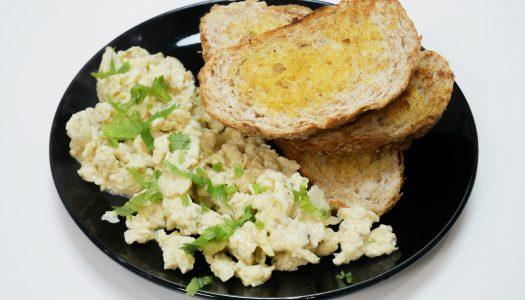 Resipi: Telur Hancur dan Roti Bakar
