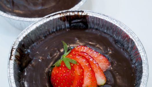 Resipi: No-Bake Strawberry Chocolate Tart