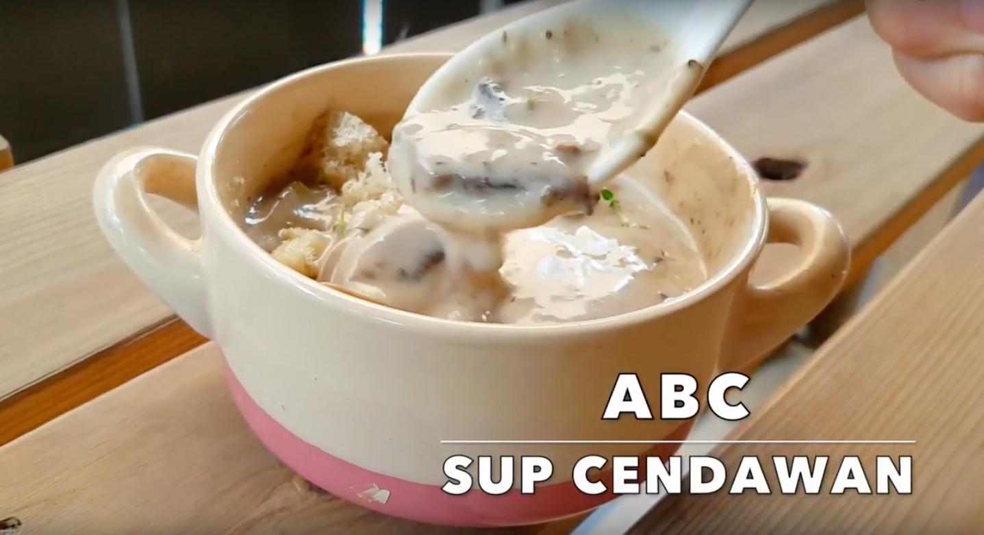 Resipi: Sup Cendawan