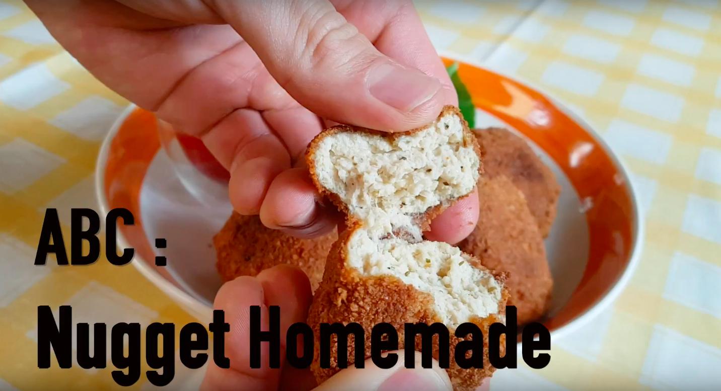 Resepi: Homemade Nugget Ayam