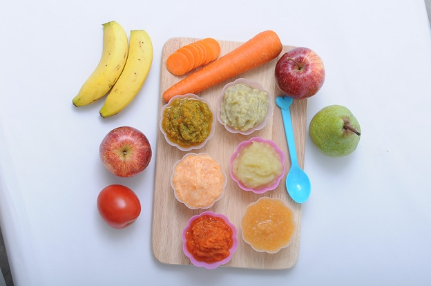 Resepi: Puri Makanan Pertama Bayi